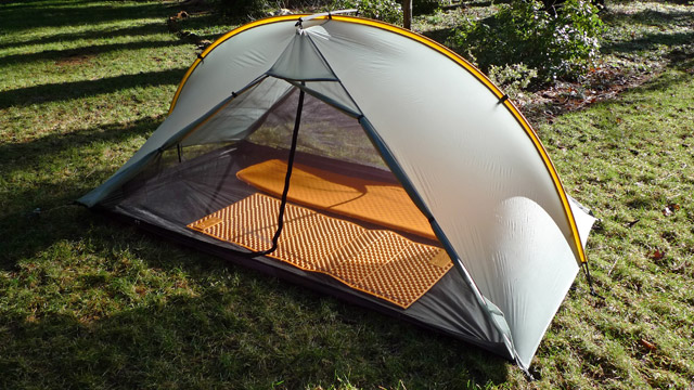 While looking at Tarptent products I found this one : lightest free standing tent - memphite.com