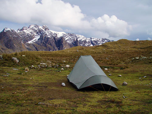 Squall 2 at 15000 ft on the Santa Cruz Trail in Peru & Tarptent Gallery