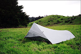 Add a Tyvek ground cloth or sewn-in floor for water and insect protection. Front beak protects against blowing rain. Extended beak available. & Tarptent Squall Ultralight Shelter