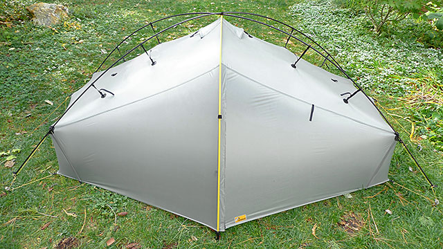 Any time you have to stake out any part of the fly to form a vestibule etc the tent stops being a true free-standing shelter. A free-standing tent is ... & Freestanding Tarptents