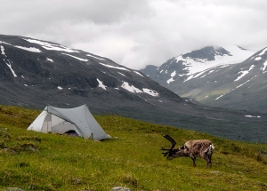 StratoSpire 2 in Bielavallda valley, Sarek National Park, Sweden | Daniel Berg