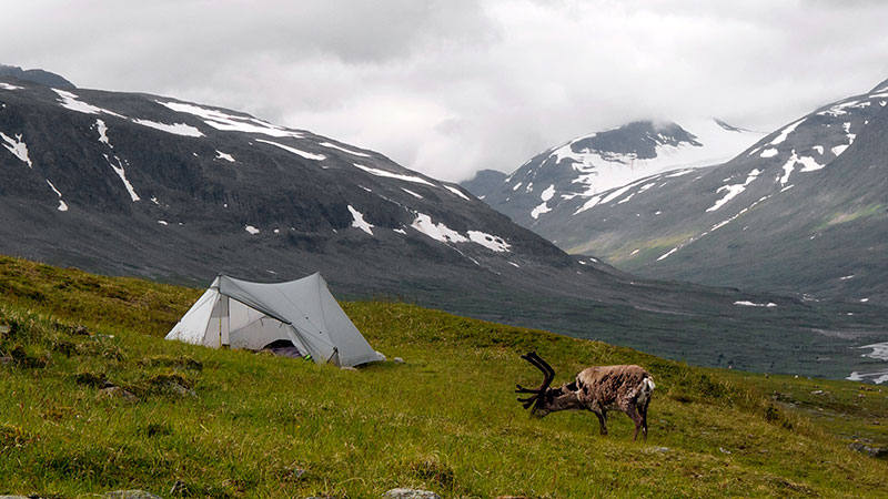 StratoSpire 2 in Bielavallda valley, Sarek National Park, Sweden | Daniel Berg